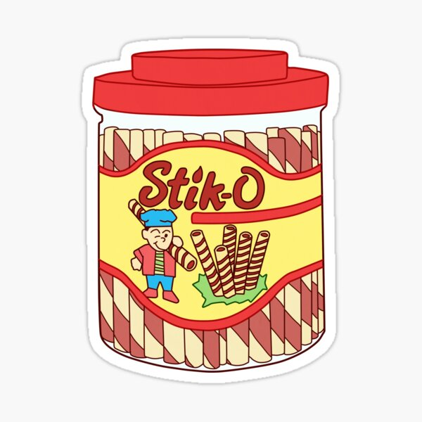 Stik-O Snack Sticker