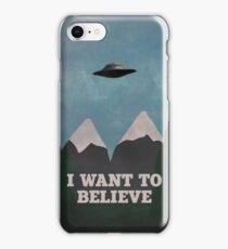 X-Files Twin Peaks mashup v2 iPhone Case/Skin