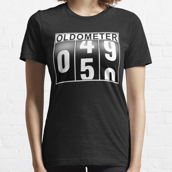 50th Birthday Oldometer Essential T-Shirt