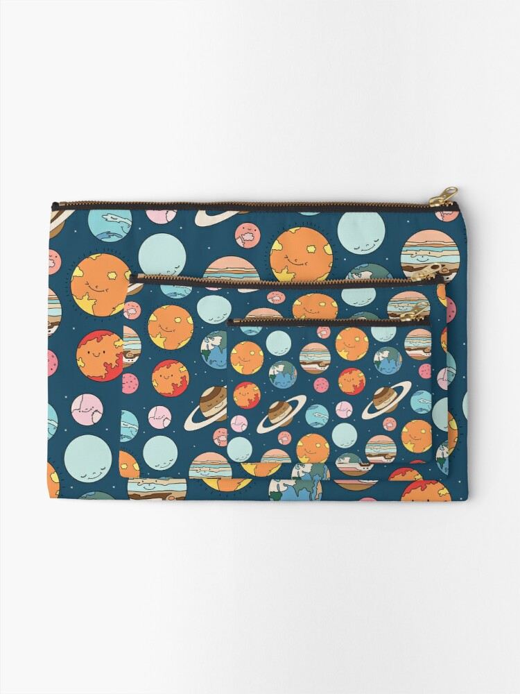 Alternate view of Cosmos by Elebea Zipper Pouch
