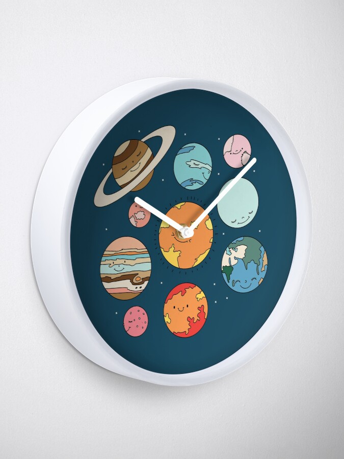 Alternate view of Cosmos by Elebea Clock