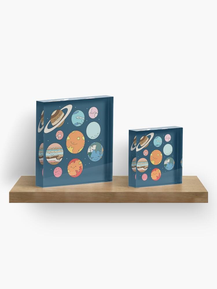 Alternate view of Cosmos by Elebea Acrylic Block