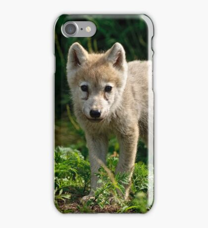 Arctic Wolf Pup - Update iPhone Case/Skin