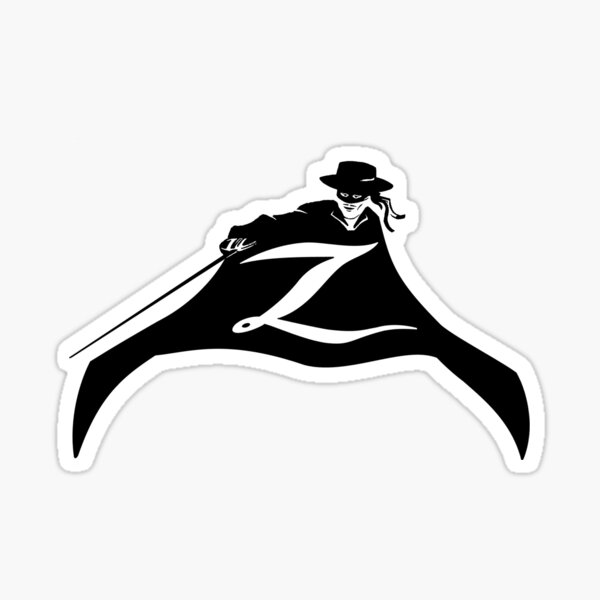 Zorro - Z Sticker