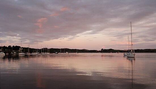 Peaceful Dawn - Baltimore Harbour, West Cork, Ireland by Orla Flanagan