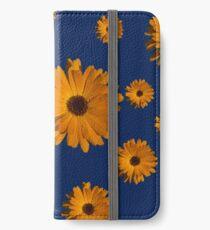 Orange power flower iPhone Wallet/Case/Skin