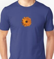 Orange power flower Slim Fit T-Shirt