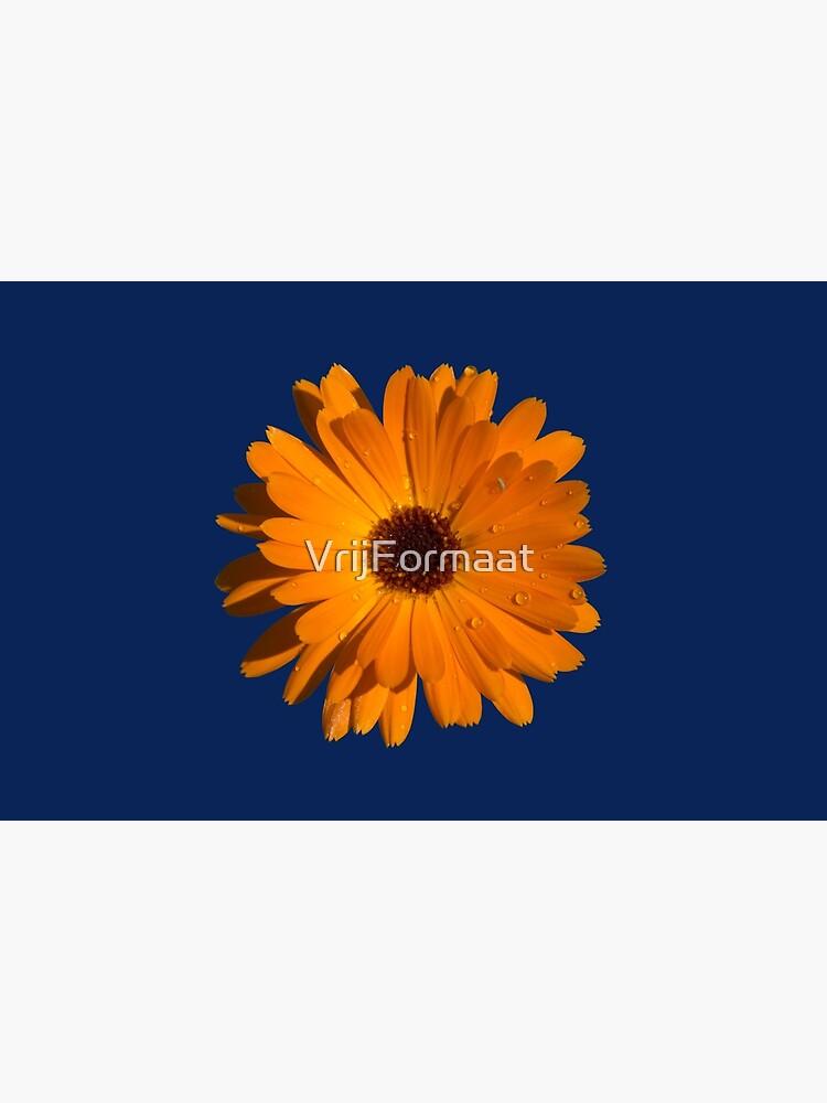 Orange power flower by VrijFormaat