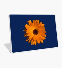 Orange power flower Laptop Skin
