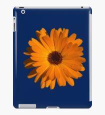 Orange power flower iPad Case/Skin