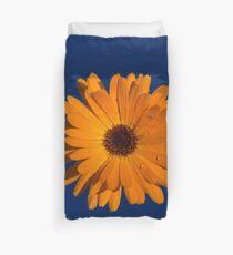 Orange power flower Duvet Cover