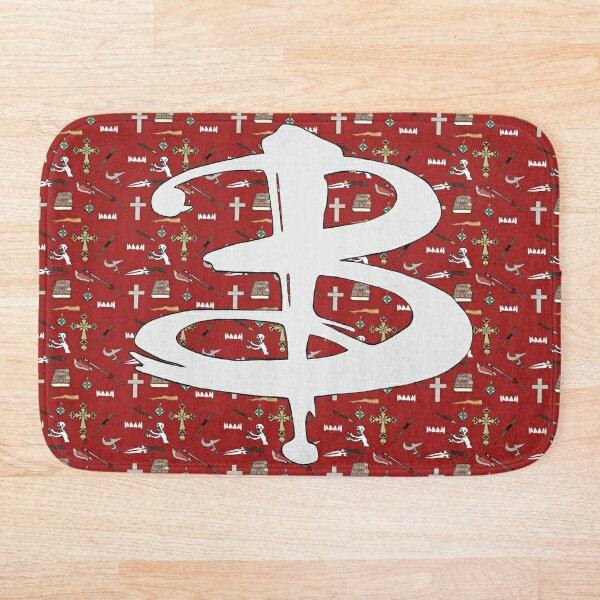 buffy pattern Bath Mat