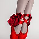 Red bow ballet by aka-photography