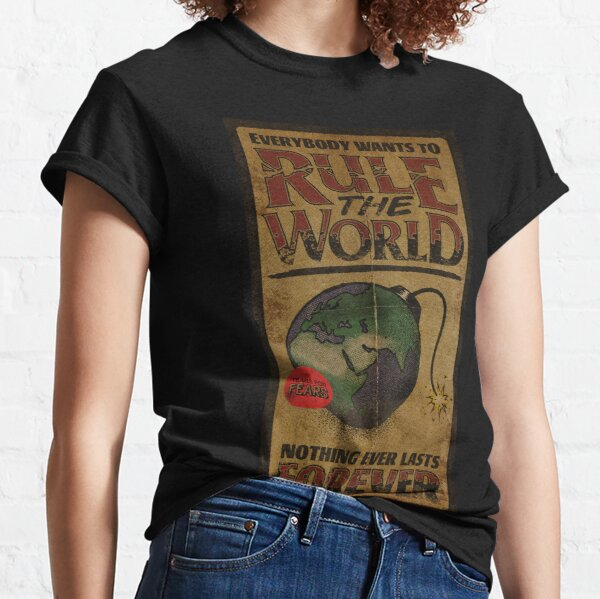 Everybody Wants To Rule The World - Tears for Fears Classic T-Shirt
