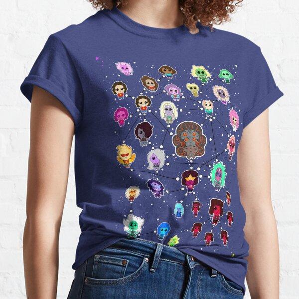 Steven Universe Fusion Flow Chart Classic T-Shirt