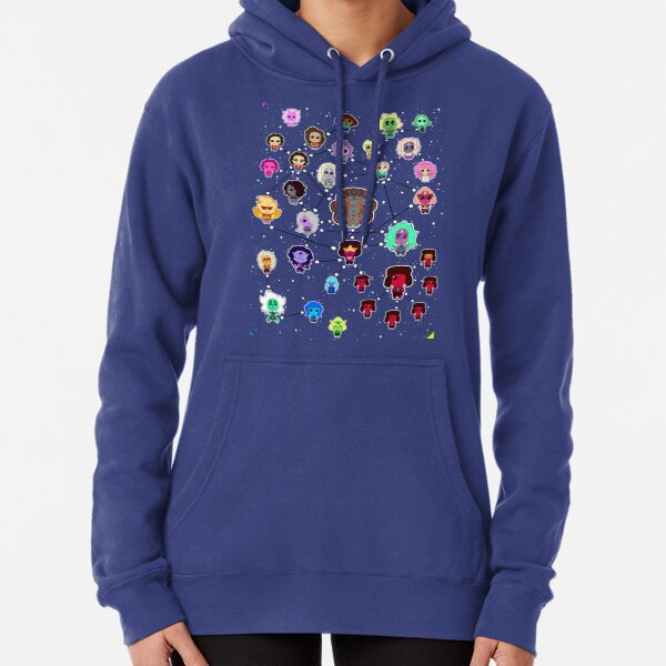 Steven Universe Fusion Flow Chart Pullover Hoodie