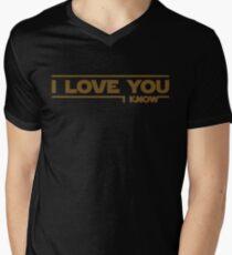 Star Wars - I Love You Men's V-Neck T-Shirt