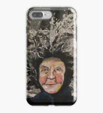 Granny Gets a Hairdo iPhone Case