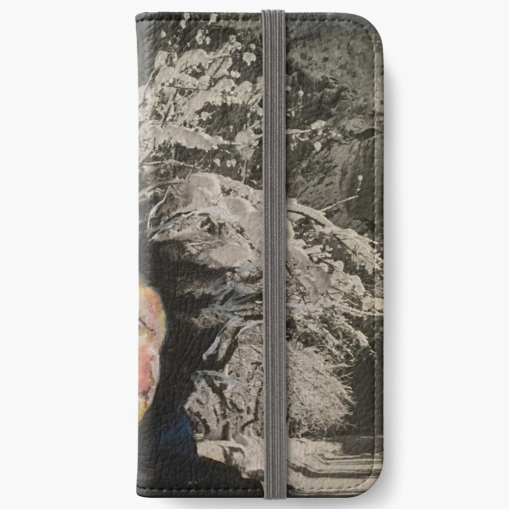 Granny Gets a Hairdo iPhone Wallet