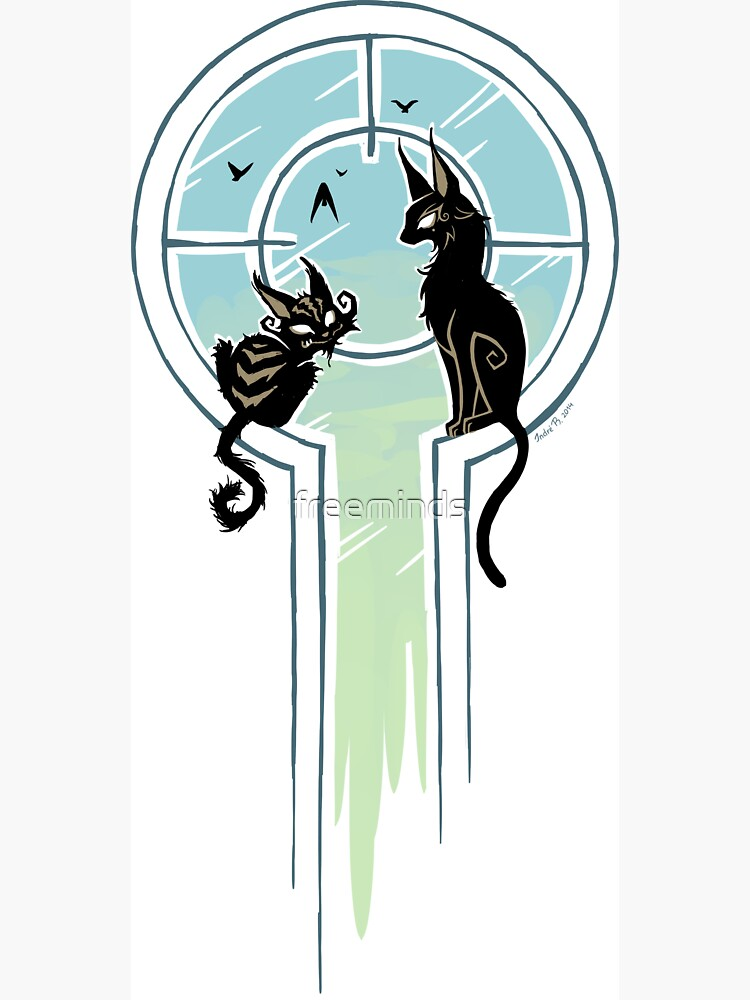 Window Cats by freeminds
