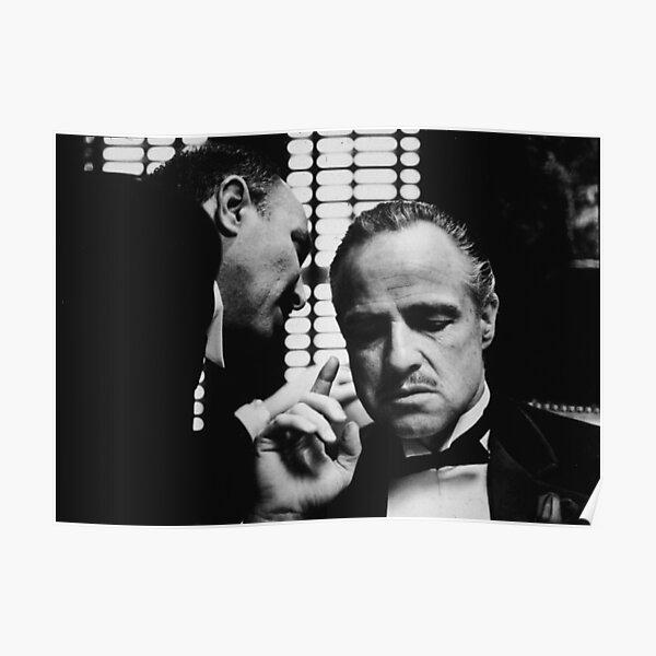 The Godfather movie poster don Marlon Brando Poster