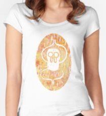 Jake the dog variation Women's Fitted Scoop T-Shirt