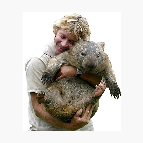 Steve Irwin Fotodruck