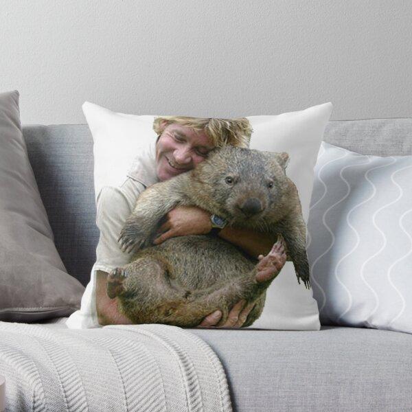 Steve Irwin Throw Pillow