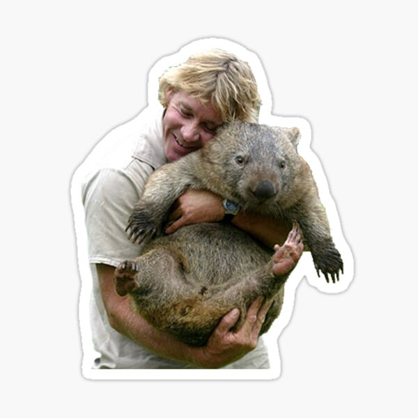 Steve Irwin Sticker