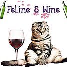 Feline and Wine  by deannamill2287
