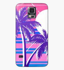 Synthwave Bi Flag Case/Skin for Samsung Galaxy