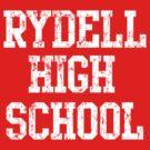 Retro Rydell High School by iEric