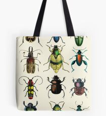 Jeweled Beetles Tote Bag