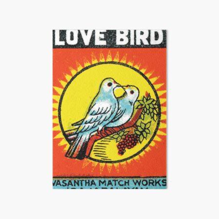 Love Birds Art Board Print