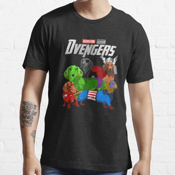 Teckel de chien Dvengers T-shirt essentiel