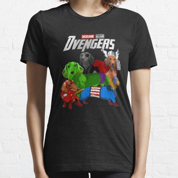 Dvengers Dog Dachshund Essential T-Shirt