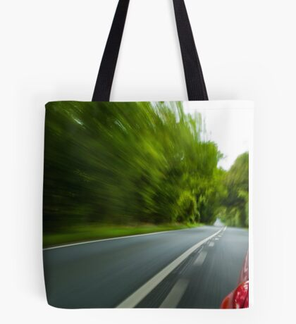 Speed and motion Tote Bag