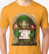 """ALIEN """"OLD TRICKS FOR NEW TREATS !"""" Unisex T-Shirt"""