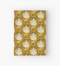 Blume des Lebens - Wallpaper Gold 1 Notizbuch