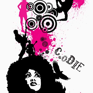 Afro Chick Create or Die by CreateOrDie