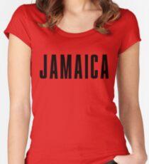 Iconic Jamaika Shirt Tailliertes Rundhals-Shirt