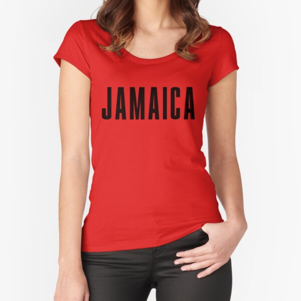 Iconic Jamaica Shirt Fitted Scoop T-Shirt