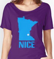Minnesota nice geek funny nerd Women's Relaxed Fit T-Shirt