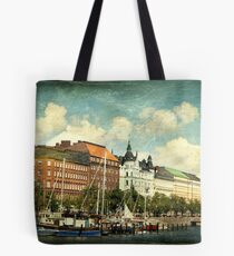 Helsinki Waterfront Tote Bag