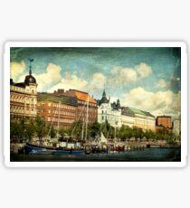 Helsinki Waterfront Sticker