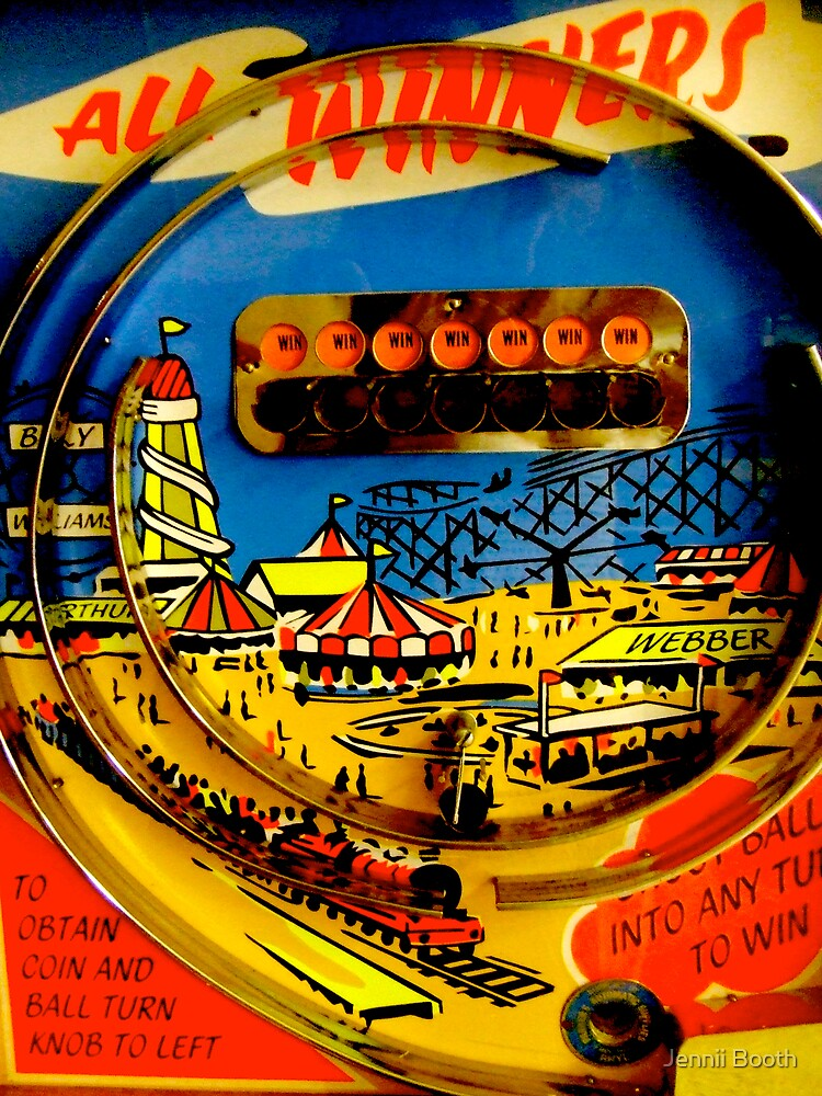 """""""All winners"""" Penny Arcades by Jennii Booth"""