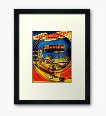 """All winners"" Penny Arcades Framed Print"
