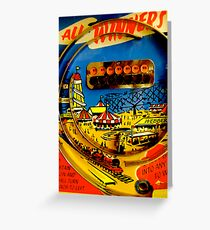 """""""All winners"""" Penny Arcades Greeting Card"""