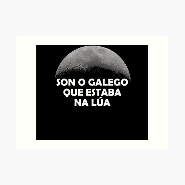 Son o galego que estaba na lúa - versión 2 Lámina artística