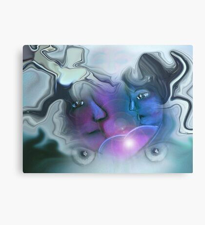 Sharing the energy with the one you love Canvas Print